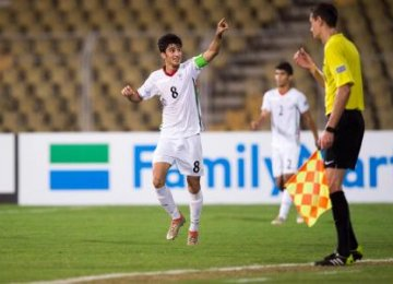 Iran Footballer Among World Best Young Talents