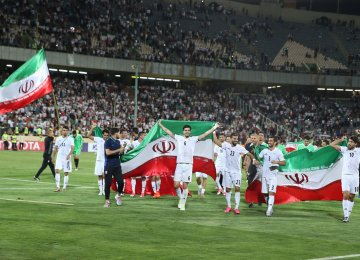 Iran was the first Asian team to secure a World Cup berth last June.
