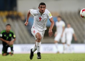 Allahyar Sayyad's Strike Nominated for Top Goal of FIFA U-17 World Cup