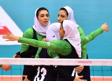 Iran defeated Macau in a three straight set victory.