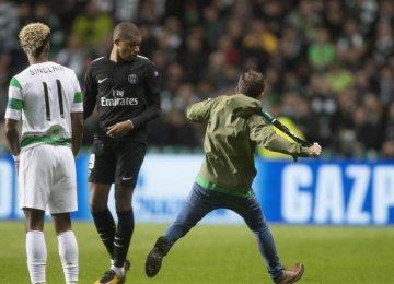 UEFA Fines PSG, Basel, Celtic Over Crowd Trouble