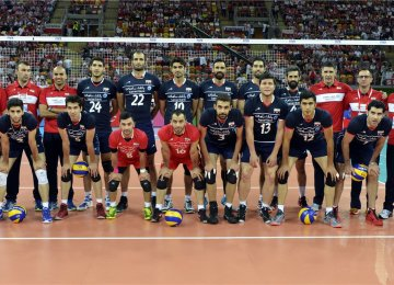 Iran national volleyball team