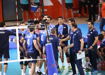 National team after the match.