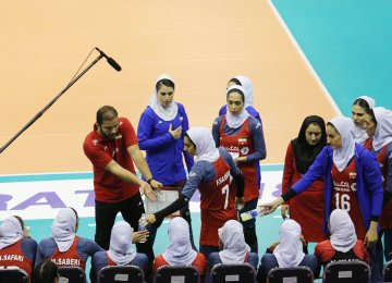 Iran came back to life in the fourth set and led from start to finish.