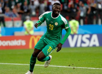 M'Baye Niang scored the second  goal for Senegal.