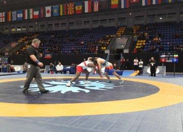 Wrestlers Bag 5 Medals in Ukraine