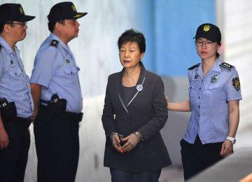 Former S. Korean President Park Lands in Prison