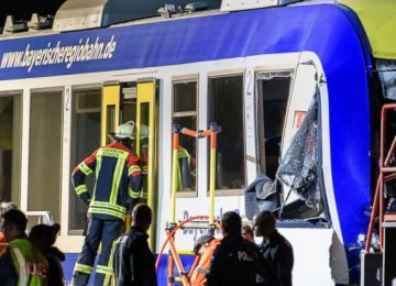 2 Dead in German Train Crash