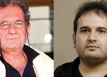 Dariush Mehrjui (L) and Reza Dormishian