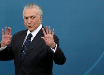 Corruption Probe Into Brazilian Cabinet