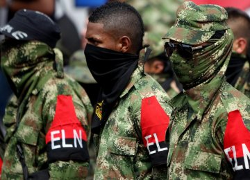 A group of demobilized rebels of ELN (File Photo)