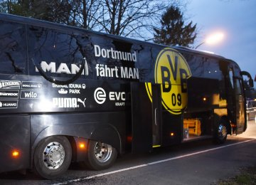 Police Hunt Suspect of Dortmund  Bus Blast