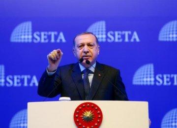 Erdogan: Germany Acting Like Nazis