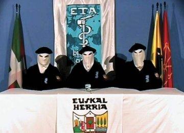 Basque Separatists Confirm Disarmament Plans