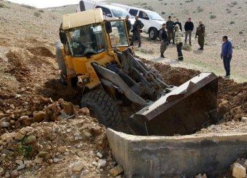 EU Slams Israel's West Bank Demolitions