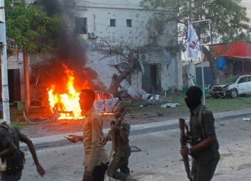 Car Bomb Hits Mogadishu