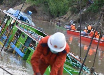 Myanmar Ferry Capsizes, 20 Dead