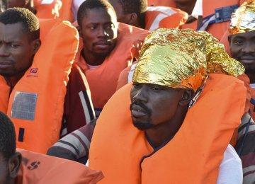 3,000 Migrants Rescued in Mediterranean