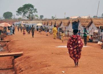A camp for internally displaced people in Wau town,  South Sudan (File Photo)