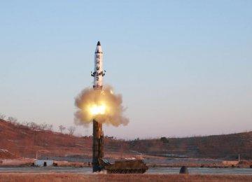 UNSC Condemns N. Korea Ballistic Missile Test