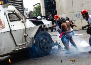 Latin American Nations Denounce Venezuela Crackdown