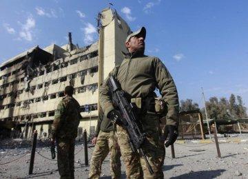Iraq Forces Advance in Mosul