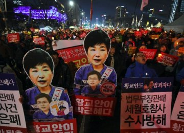 Self-Immolation at South Korean Rally