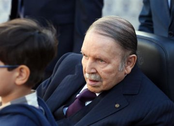 Algeria Ruling Party Asks President to Run For 5th Term