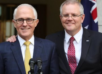 Turnbull Ousted as Australia PM After Turbulent Week