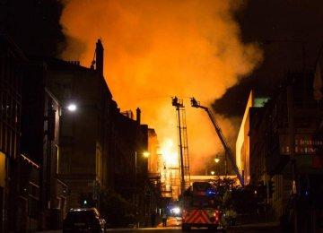 Blaze at Glasgow Art School Again