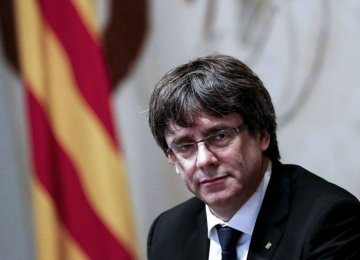Catalonia's Puigdemont Opts Out of Presidency