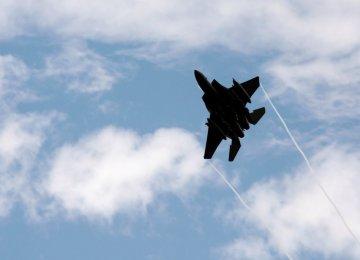 US F-15 Crashes Near Japan
