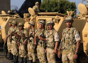 Egyptian Military Troops Kill  52 Militants in Sinai Desert