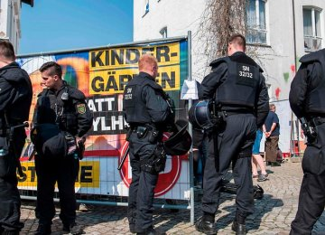 German Town on Alert Amid Neo-Nazi Festivals, Counter Events
