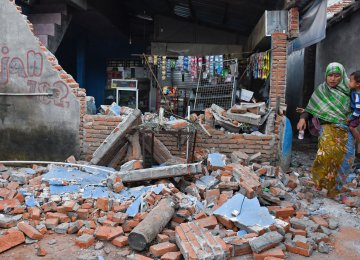 A magnitude 6.9 quake rocked Lombok Island, Indonesia, on August 6.