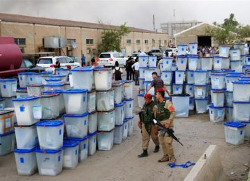 Four Arrested in Connection With  Ballot Box Storage Blaze in Iraq