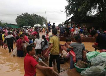 Laos Dam Disaster Kills 19