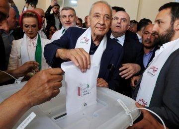 Berri Reelected as Lebanese Speaker