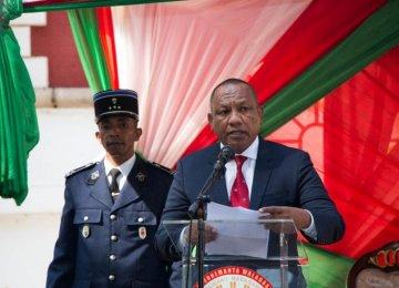 New Gov't in Madagascar