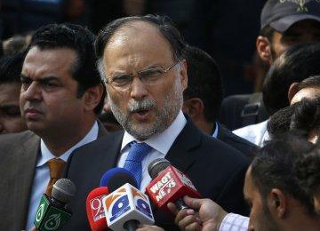 Pakistan's Interior Minister Survives Suspected Assassination Attempt