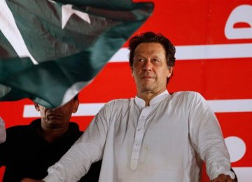 Imran Khan's Party Begins Coalition Talks