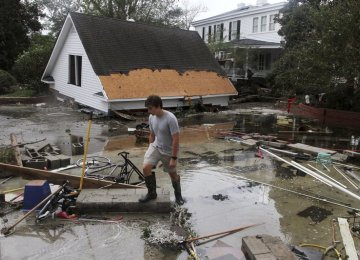 Storm Florence Weakens But Epic Rains Still Expected