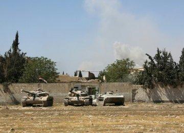 Syria Ready to Start Rebel Talks