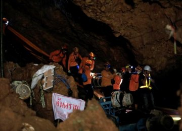 Soccer Team All out of Thailand Cave