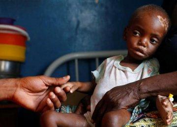 UNICEF: 400,000 Children  on Verge of Death in DRC