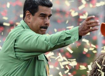 Venezuela's Maduro Eyes Second Term
