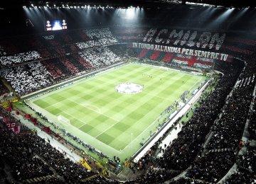San Siro Stadium, the home of AC Milan