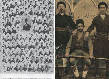 Documents and Photos in Niavaran Commemorate 1906 Constitution