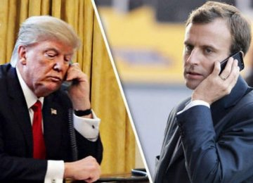 US, French Presidents Discuss Iran