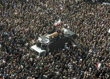 Huge Crowds Bid Emotional Farewell to Hashemi